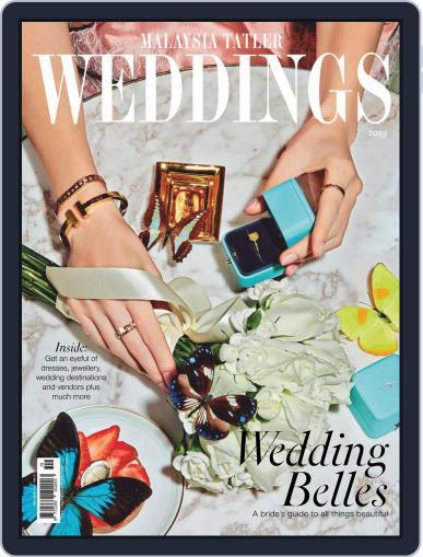 Malaysia Tatler Weddings Digital Back Issue Cover