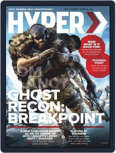 Hyper Digital Back Issue Cover