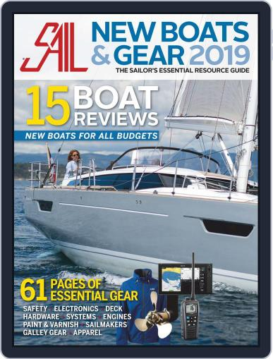 Sail - New Boat & Gear Review Digital Back Issue Cover