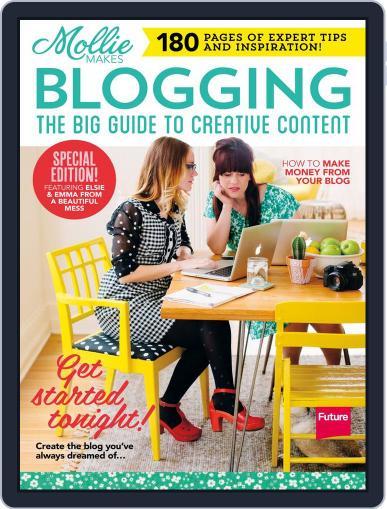 Mollie Makes Blogging Magazine (Digital) Cover