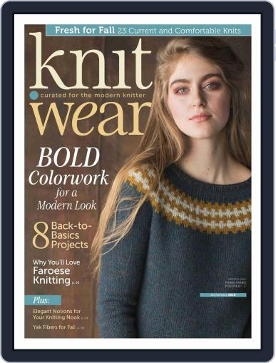 knit.wear Digital Back Issue Cover