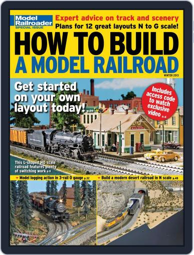 How to Build a Model Railroad Digital Back Issue Cover