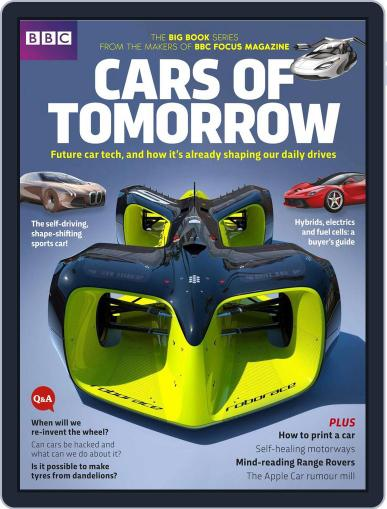 Cars of Tomorrow Digital Back Issue Cover
