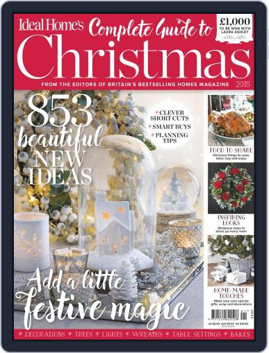 Ideal Home's Complete Guide to Christmas Magazine (Digital) Cover
