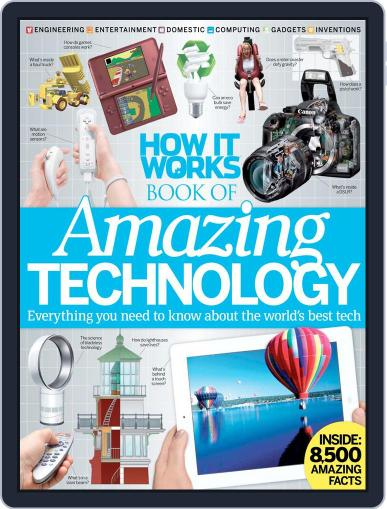 How It Works Book of Amazing Technology Digital Back Issue Cover