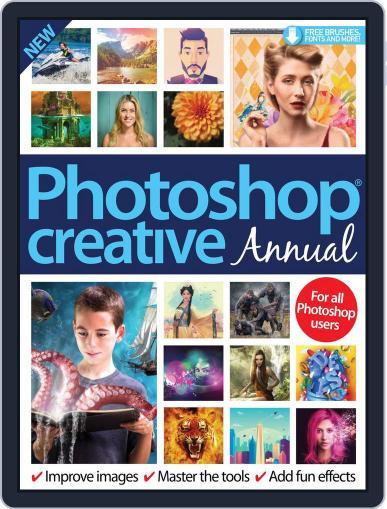 Photoshop Creative Annual Magazine (Digital) Cover