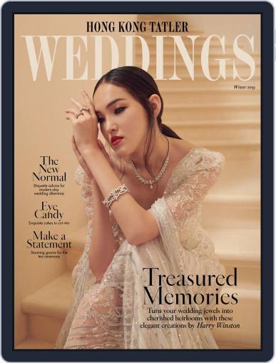Hong Kong Tatler Weddings Digital Back Issue Cover