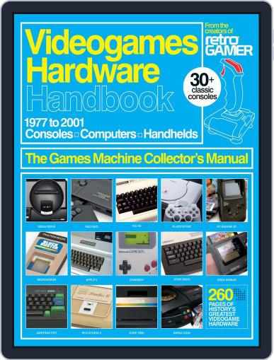 Videogames Hardware Handbook Vol. 2 Magazine (Digital) July 5th, 2016 Issue Cover