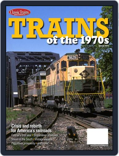 Trains of the 1970s Digital Back Issue Cover