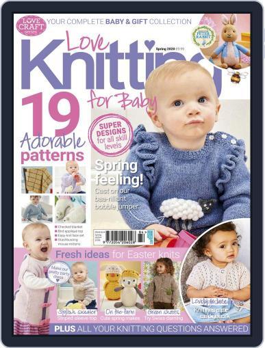 Love Knitting for Baby Magazine (Digital) Cover
