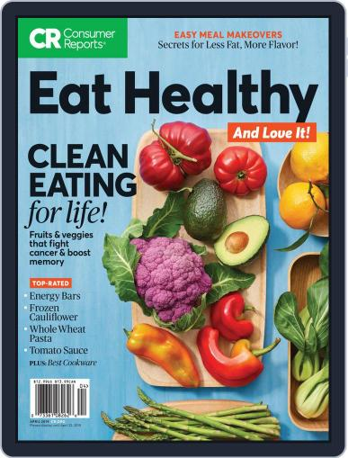 How to Eat Healthy and Love it, Too! Magazine (Digital) Cover