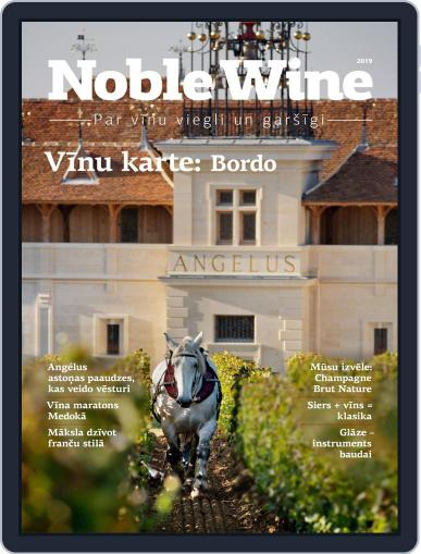 Noble Wine Žurnāls Digital Back Issue Cover