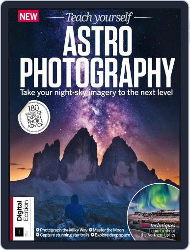 Teach Yourself Astrophotography April 10th, 2018 Digital Back Issue Cover
