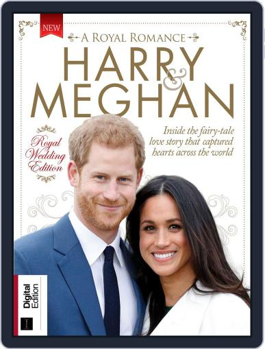 Harry & Meghan: A Royal Romance April 10th, 2018 Digital Back Issue Cover