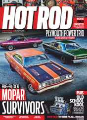Hot Rod Magazine Subscription August 1st, 2020 Issue