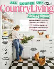 Country Living Magazine Subscription June 1st, 2020 Issue