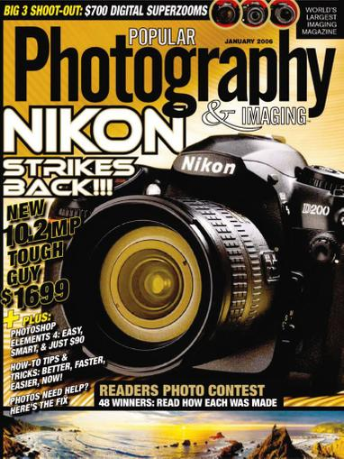 Popular Photography Magazine Subscription Discount