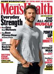 Men's Health Magazine Subscription May 1st, 2020 Issue