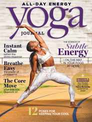 Yoga Journal Magazine Subscription July 1st, 2020 Issue
