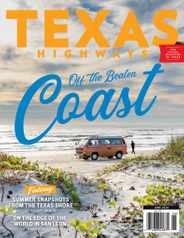 Texas Highways Magazine Subscription June 1st, 2020 Issue