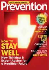 Prevention Magazine Subscription June 1st, 2020 Issue