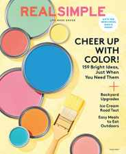 Real Simple Magazine Subscription June 1st, 2020 Issue