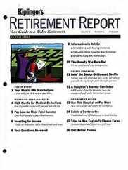 Kiplinger's Retirement Report Magazine Subscription