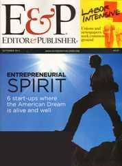Editor & Publisher Magazine Subscription