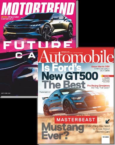 Motor Trend & Automobile Bundle