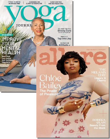 Yoga Journal & Allure Bundle