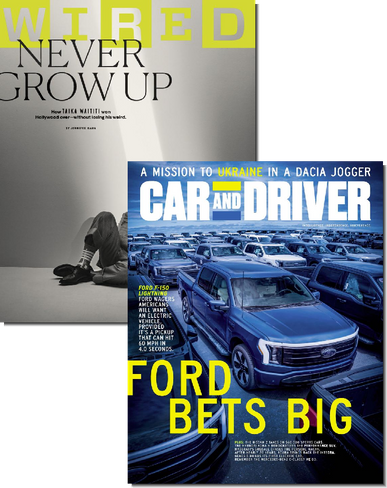 Wired & Car and Driver Bundle