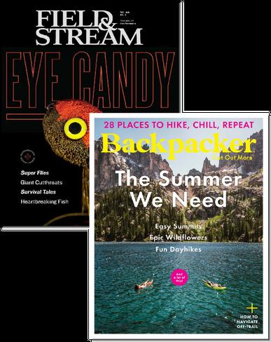 Field & Stream & Backpacker Bundle