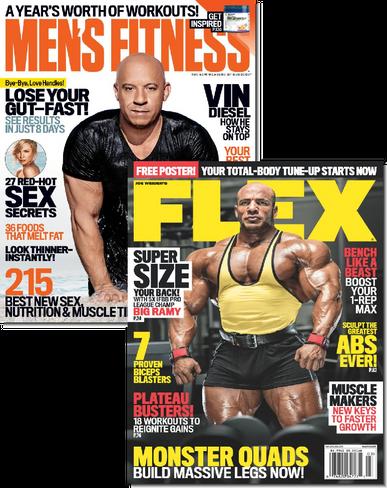 Men's Fitness & Flex Bundle