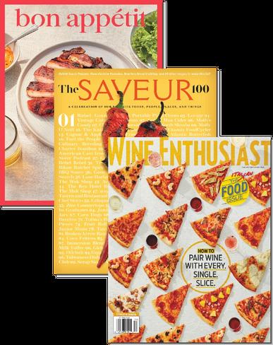 Bon Appetit, Saveur & Wine Enthusiast Bundle