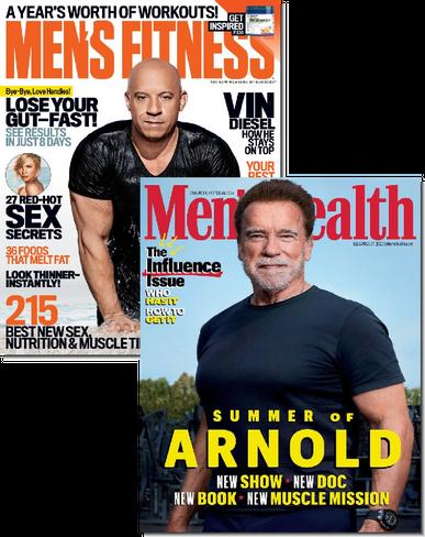 Men's Fitness & Men's Health Bundle