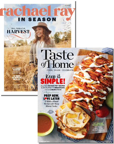 Rachael Ray & Taste of Home Bundle