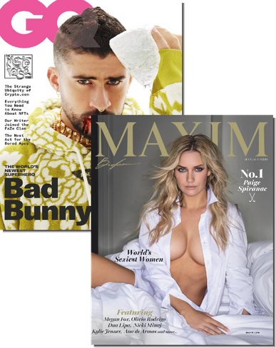 GQ & Maxim Bundle