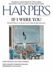 Harpers Magazine Subscription June 1st, 2020 Issue