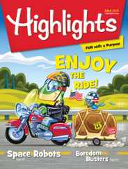 Highlights For Children Magazine Subscription July 1st, 2020 Issue