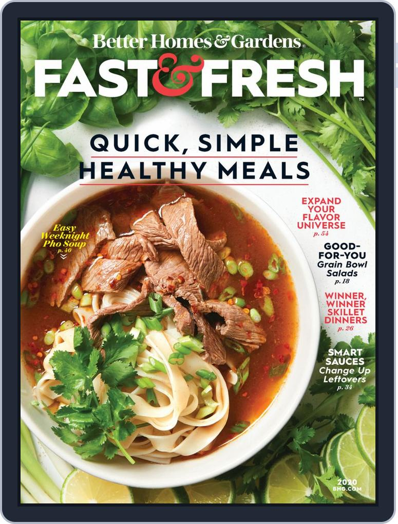 Better Homes And Gardens Fast Fresh