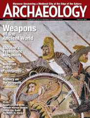 Archaeology Magazine Subscription May 1st, 2020 Issue