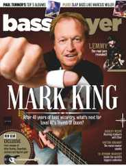 Bass Player Magazine Subscription July 1st, 2020 Issue