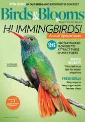 Birds & Blooms Magazine Subscription June 1st, 2020 Issue