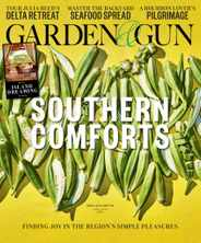Garden & Gun Magazine Subscription June 1st, 2020 Issue