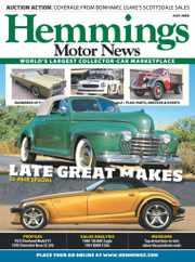 Hemmings Motor News Magazine Subscription July 1st, 2020 Issue
