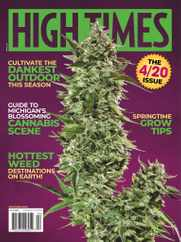High Times Magazine Subscription April 1st, 2020 Issue