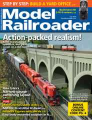 Model Railroader Magazine Subscription July 1st, 2020 Issue