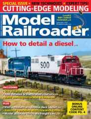 Model Railroader Magazine Subscription September 1st, 2020 Issue