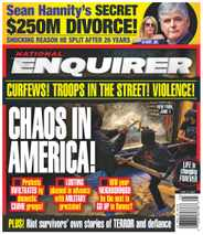 National Enquirer Magazine Subscription June 22nd, 2020 Issue