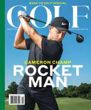 Golf Magazine Subscription July 1st, 2020 Issue